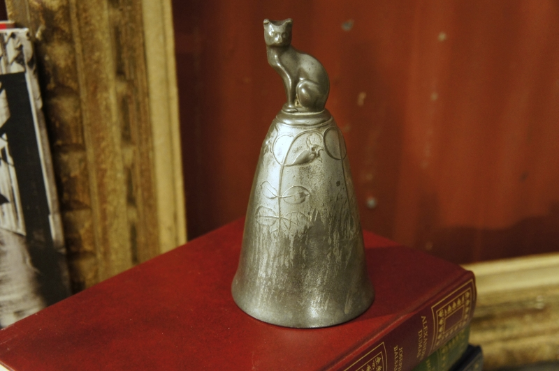 German Antique Pewter Bell