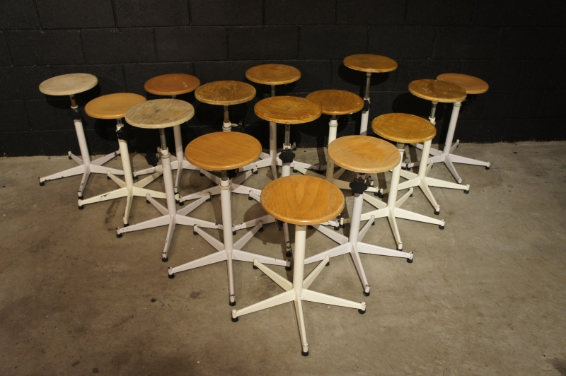 Old Industrial Stools