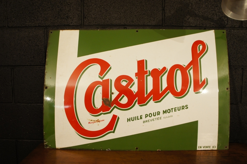 Old Castrol Advertisement