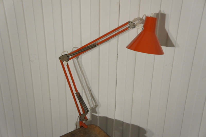 Danish Anglepoise Desk Lamp