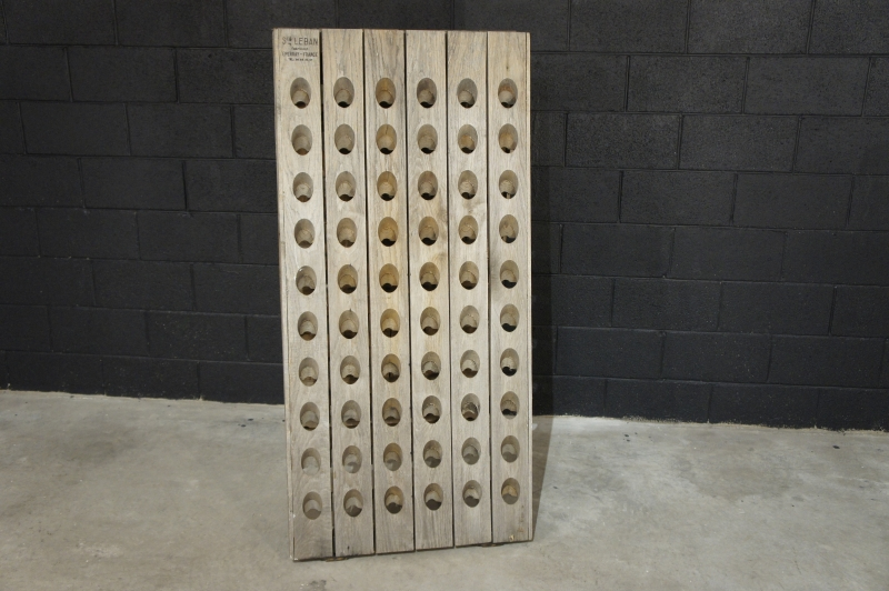 French Champagne Riddling Rack