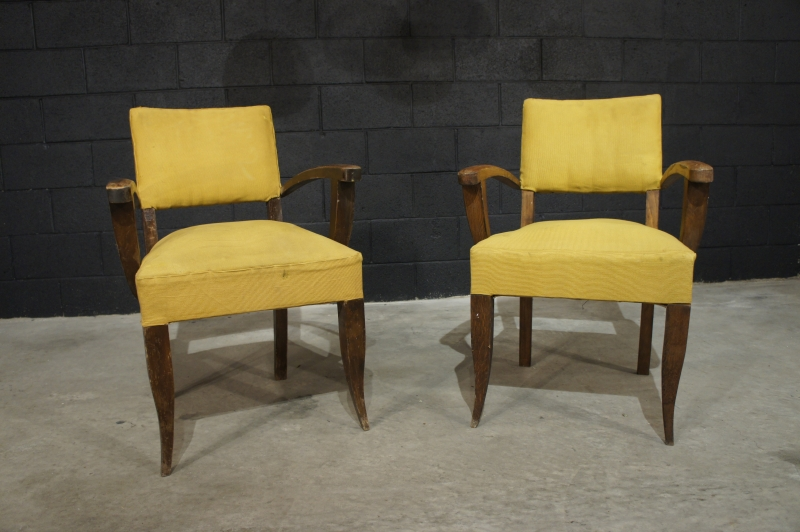 Old French Bridge Chairs