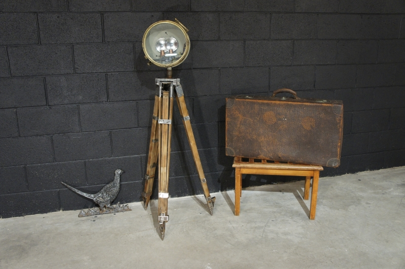 Old Searchlight Lamp