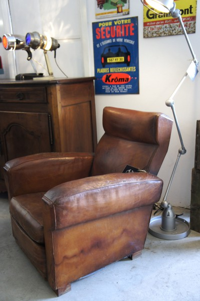 1930's Leather Armchair