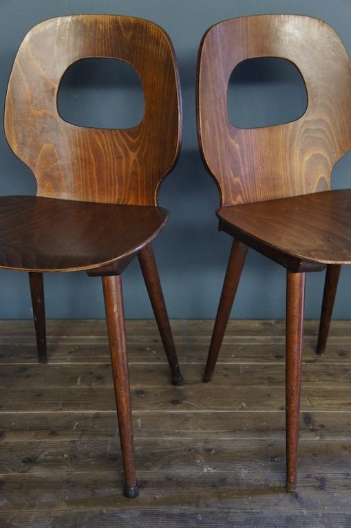 sold vintage baumann mid century chairs