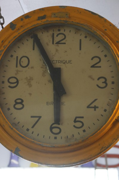 French Train Station Clock