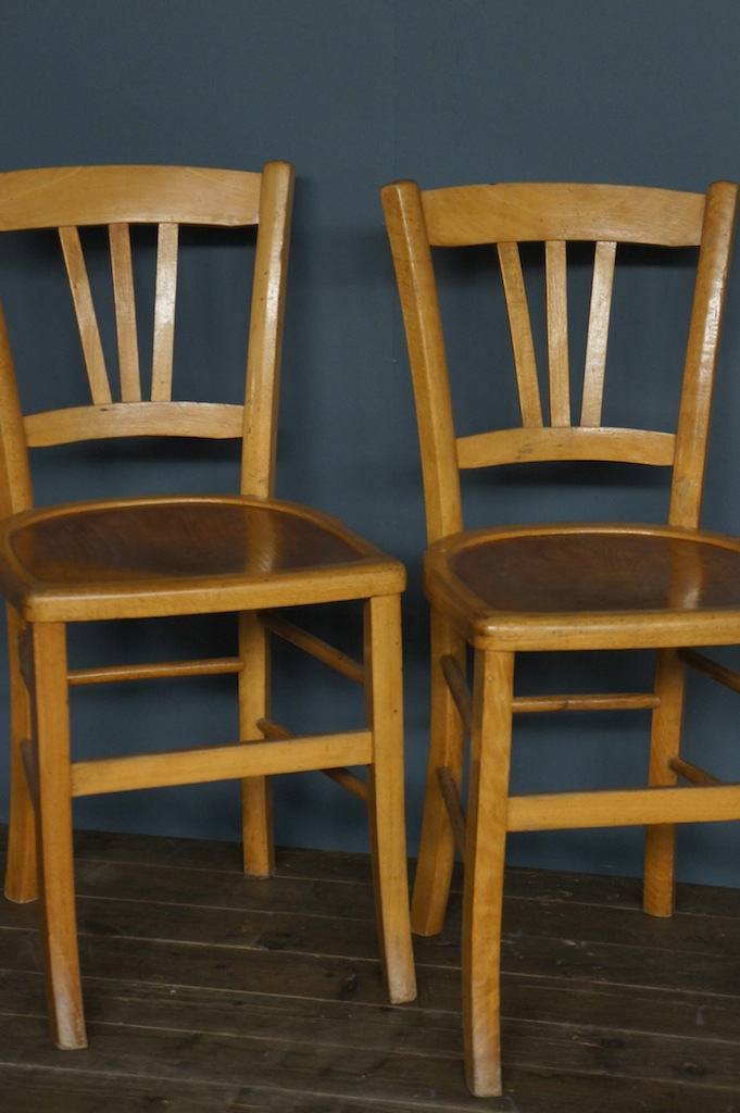 French Wooden Cafe Chair Bistro
