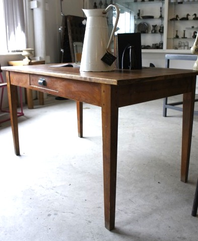 Antique-Farm-Table-French-Oak