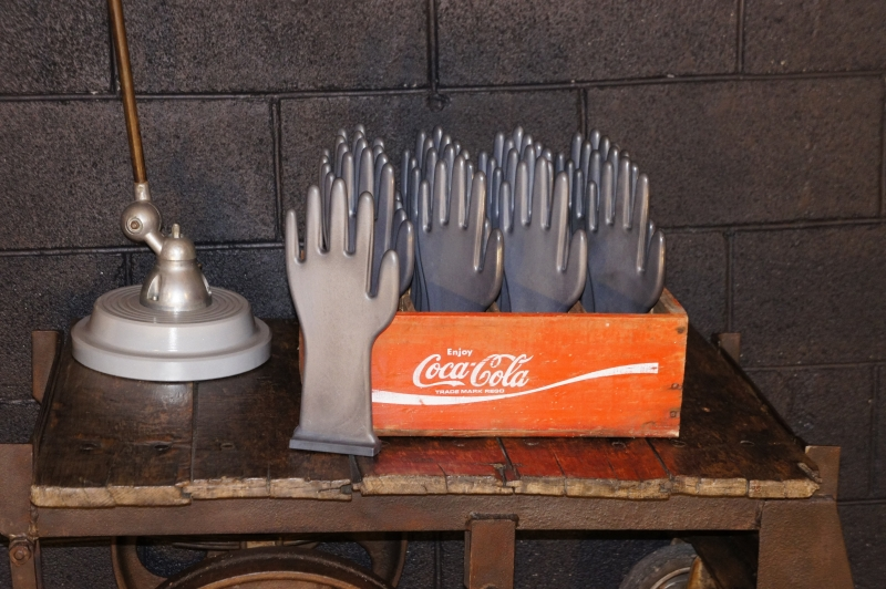 Vintage Glove Moulds