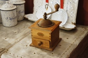 Old French Odax Coffee Grinder