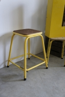 French Industrial Factory Stools