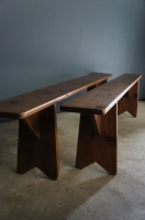 french-country-rustic-bench-seat-antique-wooden-form-nz-1