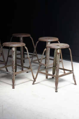 nicolle-french-vintage-industrial-metal-stool-so-vintage-nz-1