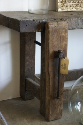 rustic-wooden-french-workshop-bench-vice-hall-table-vanity-so-vintage86