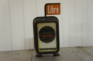 Old French Taxi Meter