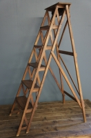 vintage-wooden-ladder-french-country-ladder-antique-nz